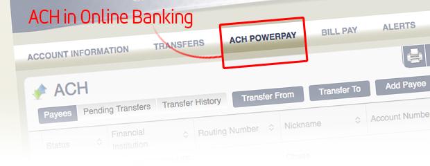 ach powerpay first basin credit union