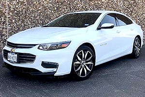 2018 Chevrolet Malibu LT Turbo