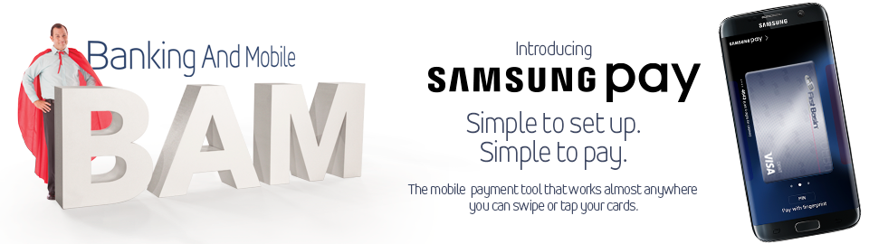 Samsung Pay - Squashed